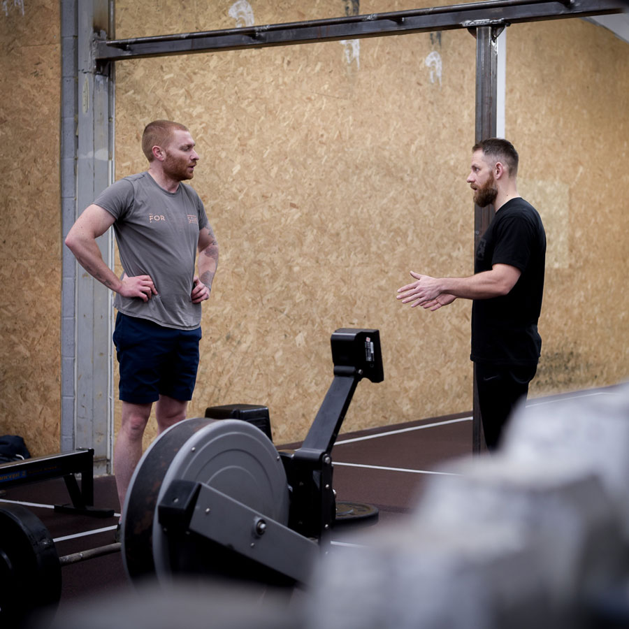 Personal training with Forge Fitness